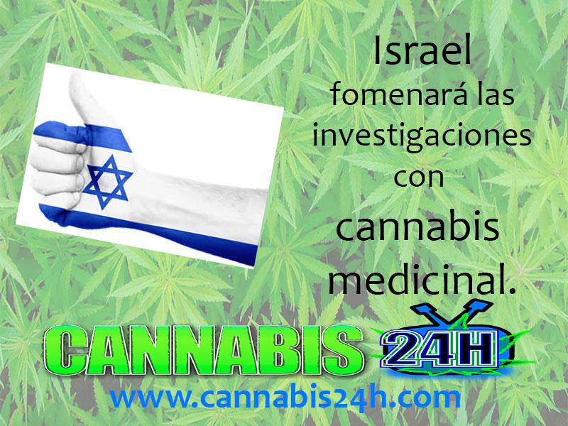 Israel fomentará estudios sobre cannabis medicinal