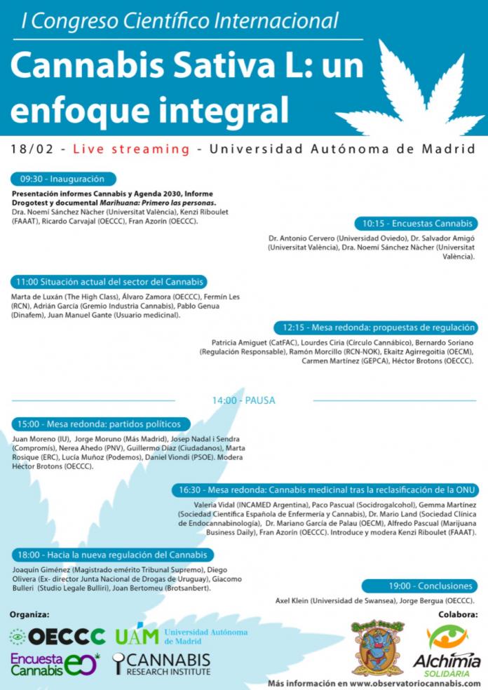 ICongresoCientificoInternacional-CannabisSativaLUnEnfoqueIntegral